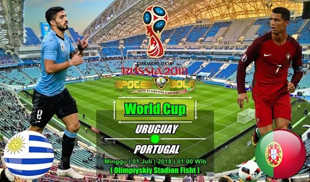 Prediksi Uruguay vs Portugal 01 Juli 2018