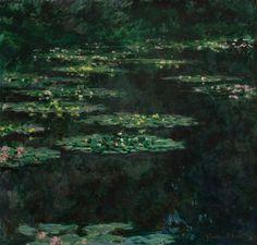 Claude Monet, Water Lillies, 1904. Jardín en Giverny