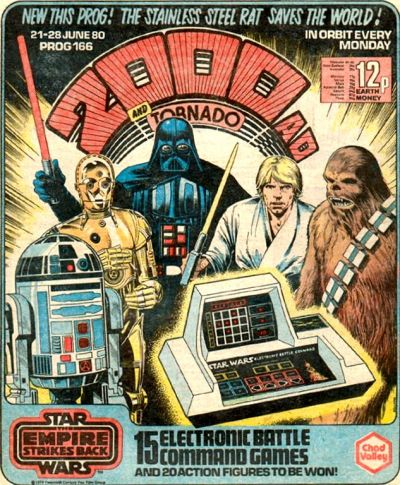 2000 AD Prog 166, the Empire Strikes Back