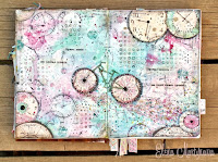 http://blogmadevselenaya.blogspot.ru/2015/06/art-journal-page-time-is-fly.html
