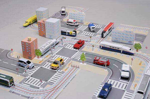 Papermau Mini City Playset Papercraft For Hot Wheels Dioramas