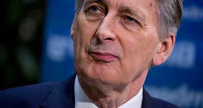 Philip Hammond, chancelier britannique de l'échiquier
