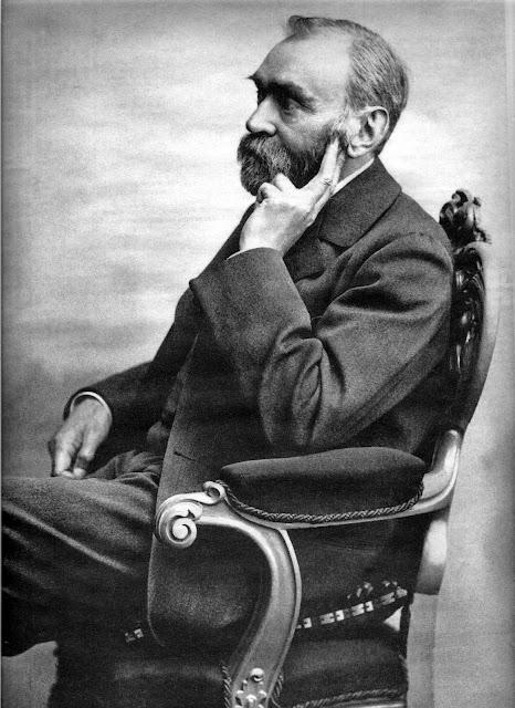 Alfred Nobel - Penemu Dinamit dan Pemrakarsa Hadiah Nobel