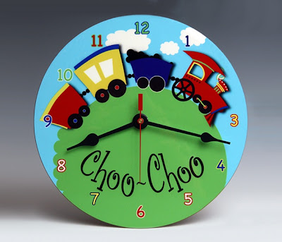 Choo Choo Wall Clock