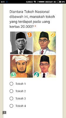 Gambar Tokoh Pahlawan Nasional Pada Uang Kertas 20000