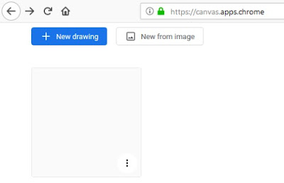Menggambar secara online dengan Google Chrome Canvas-gambar b