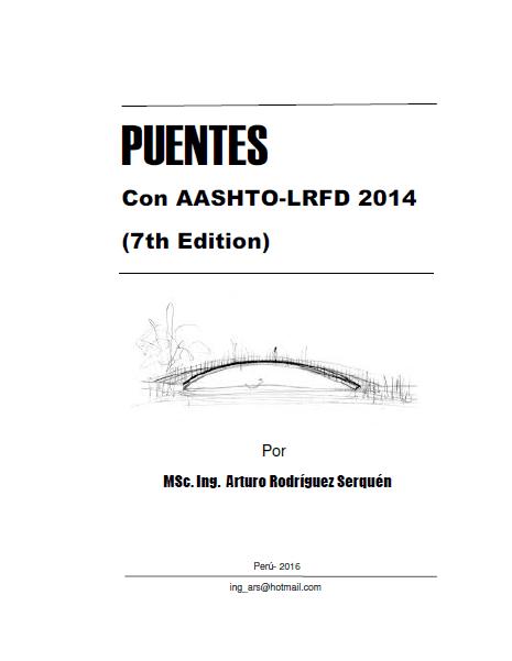 "...LABIO...: ""Puentes con AASHTO-LRFD 2014 (7th Edition)"""