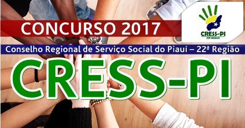 Concurso CRESS-PI 2017 Agente Administrativo