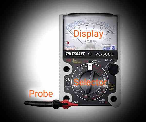 how+to+use+analog+multimeter
