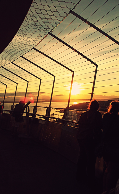 Space Needle Observation Deck Part 2 Editing Luke