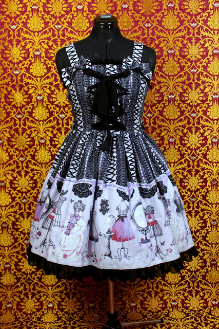 lolita fashion, lolita wardrobe, kawaii, jfashion, auris lothol, eglcommunity, lace up doll, Metamorphose