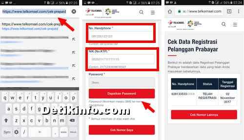 Cara Cek Registrasi Kartu Telkomsel Berhasil Atau Gagal Detik Info
