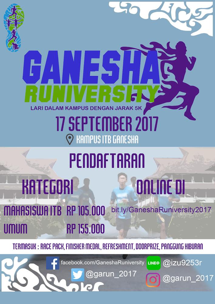 Ganesha Runiversity • 2017