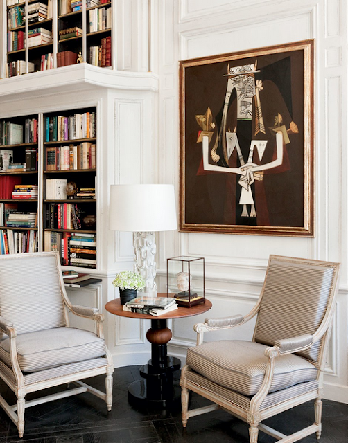 Lauren Santo Domingo paris home designed by Francois Catroux