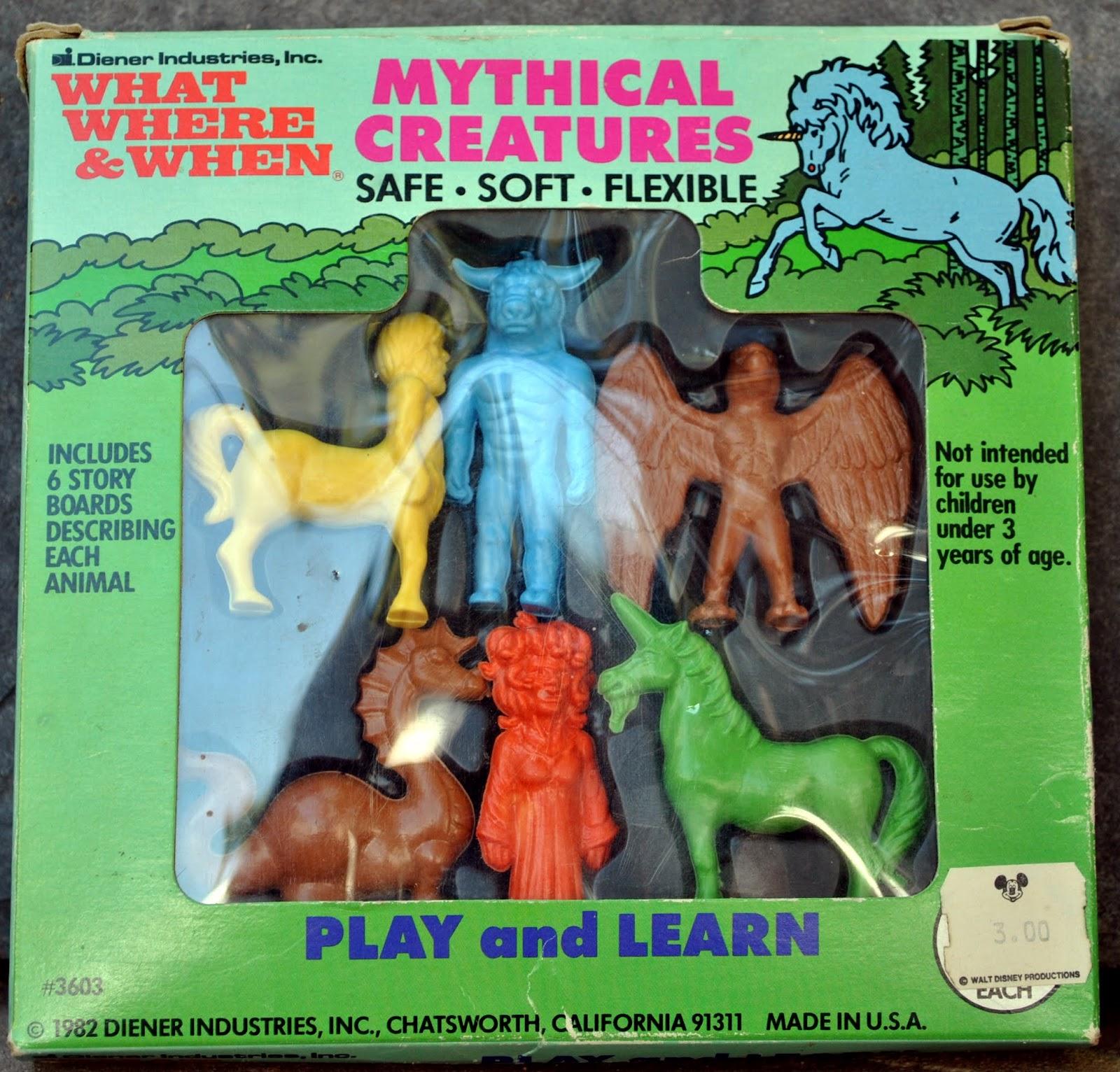 fantasy toy soldiers diener greek mythology rubber figures
