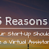 5 reasons why you should work with a virtual assistant