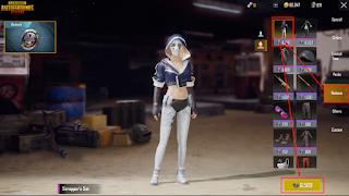 Cara Membeli Pakaian Atau Baju Di Game PUBG Mobile