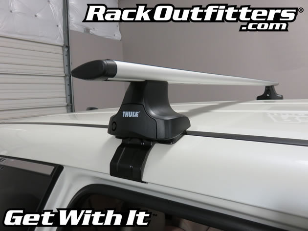 How To Install Thule 480r Rapid Traverse Aeroblade Roof ...