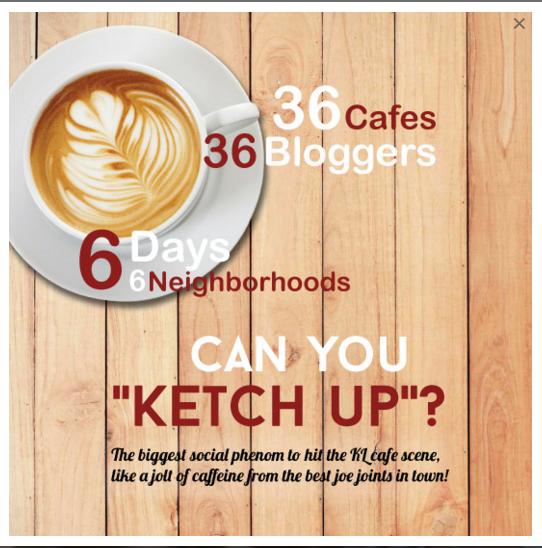 Terjahan 5 Cafe Bersama Ketch Up Run !