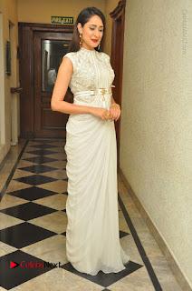 Actress Pragya Jaiswal Stills in Beautiful White Dress at turodu Audio Launch  0069.JPG