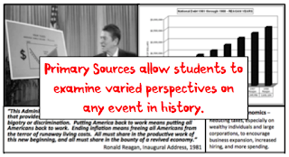 Top 10 Websites for Teaching with Primary Sources in the Secondary Classroom