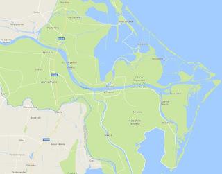studiamo la foce a delta dei fiumi