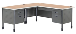 OFM Mesa L Shaped Desk