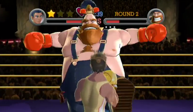 Bear Hugger Need a Hug Catch and Release Title Defense Punch-Out!! Punch Out Wii squirrel