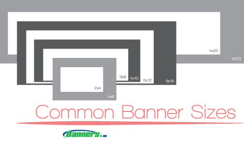 Common Vinyl Banner Sizes