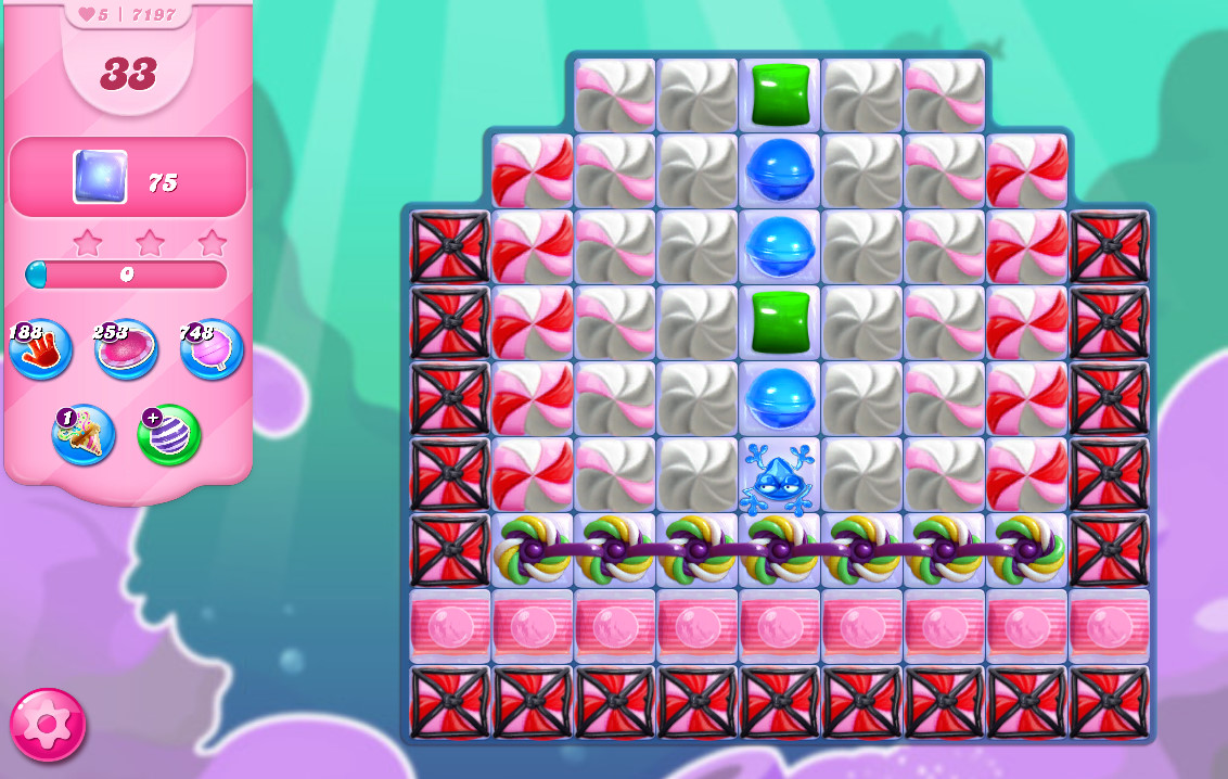 Candy Crush Saga level 7197