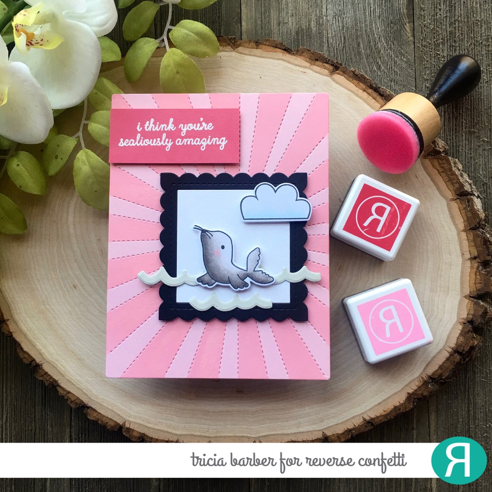 Diary of an Inky Girl…: Reverse Confetti - Color Throwdown Challenge