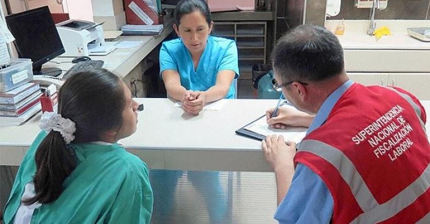 SUNAFIL detecta más de 120 trabajadores informales en el sector educación y salud de Cajamarca - www.sunafil.gob.pe