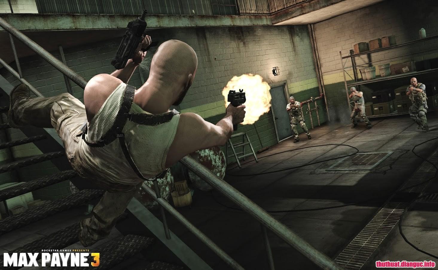 Tải game Max Payne 3 miễn phí