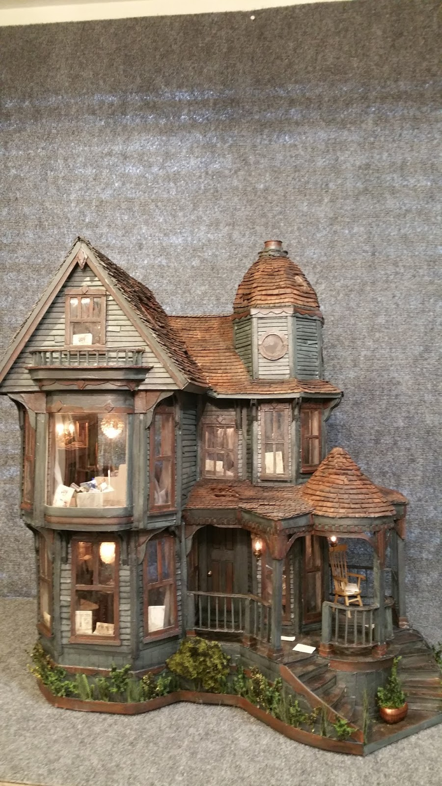 Greggs Miniature Imaginations Haunted Mansion Made Out Of
