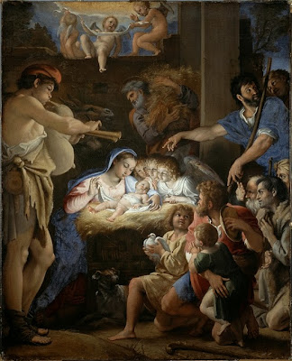 Adoration of the Shepherds - Domenichino
