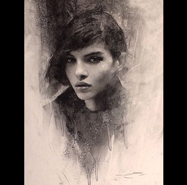 12-Casey-Baugh-Expressive-Charcoal-Portrait-Drawings-www-designstack-co