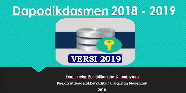 download Dapodikdasmen versi 2019