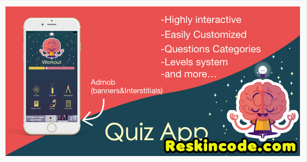Interactive Quiz app Ios Codecanyon