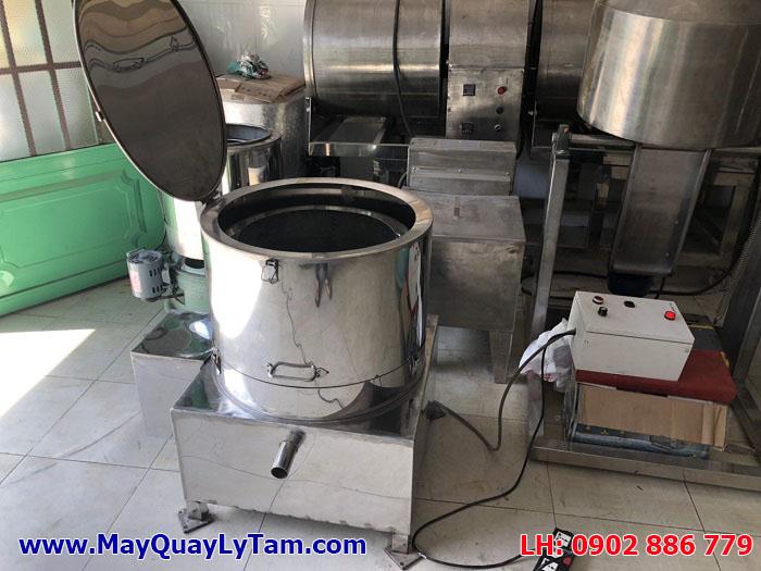 Máy vắt ly tâm inox thường xuyên có sẵn trong kho hàng Vĩnh Phát để bàn giao ngay