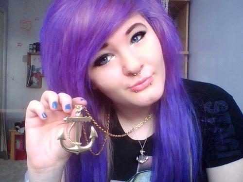 Purple Hair Dye Styles: Trends Hairstyles: Hair Color Ideas