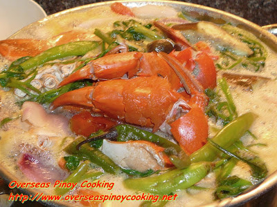 Crab Sinigang Cooking Procedure