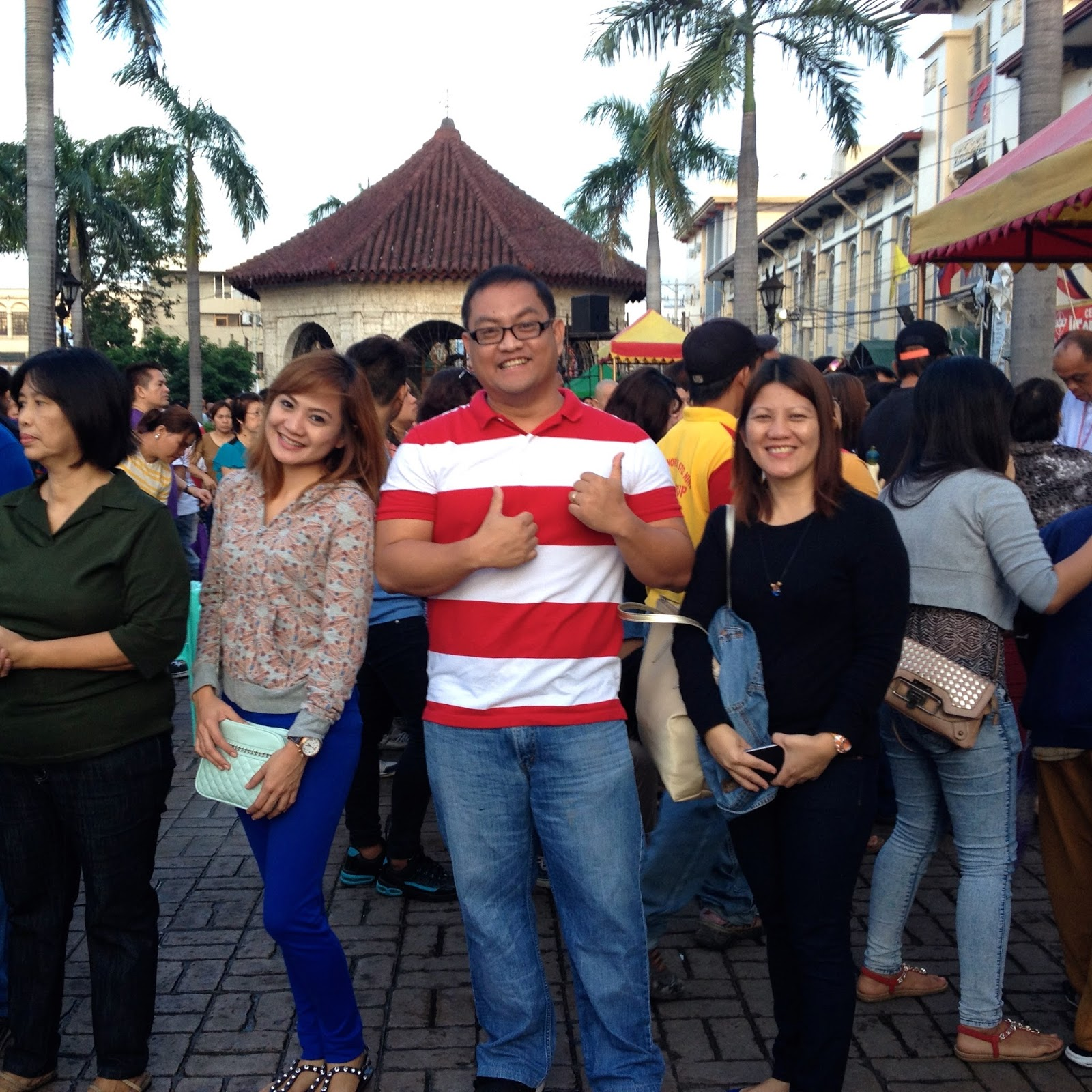 Visiting Cebu's Magellan's Cross