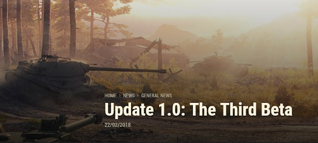Actualizacion 1.0: la tercera beta world of tanks