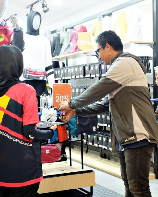 Noore Sport Hijab Surabaya