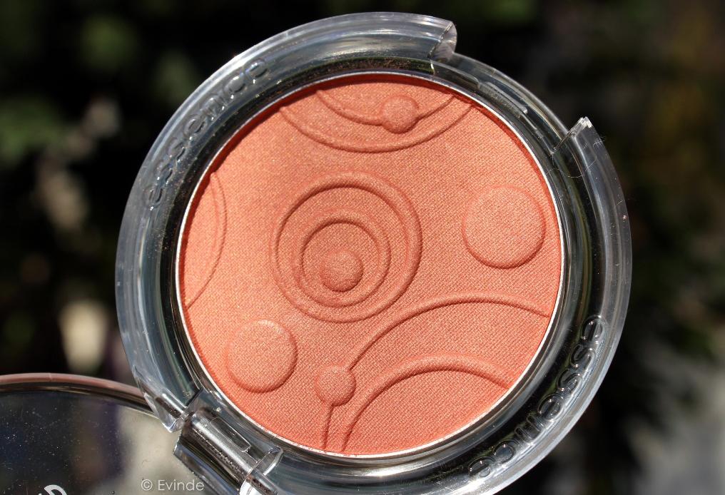 essence autumn peach blush