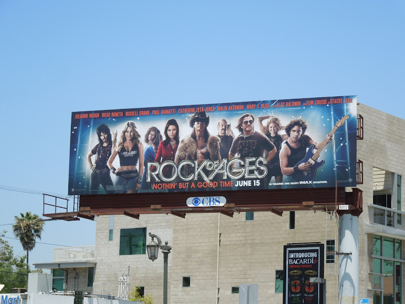 Rock of Ages movie billboard
