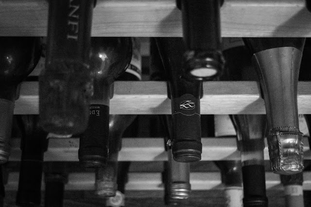 Wine Rack Macro by James L Gass IV