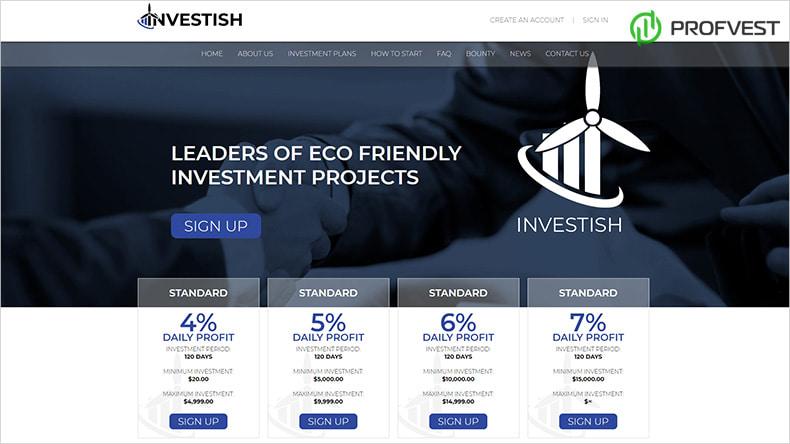 Investish обзор и отзывы HYIP-проекта