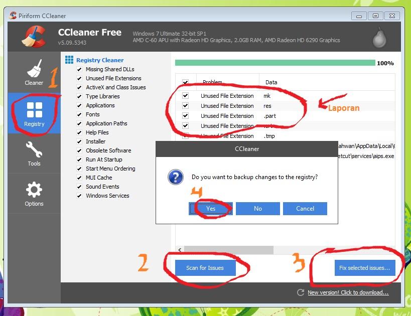 Cara Membersihkan File Sampah di Komputer dan Android dengan ...