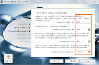 cara menggunakan myob, cara menggunakan aplikasi myob, cara membuka program myob